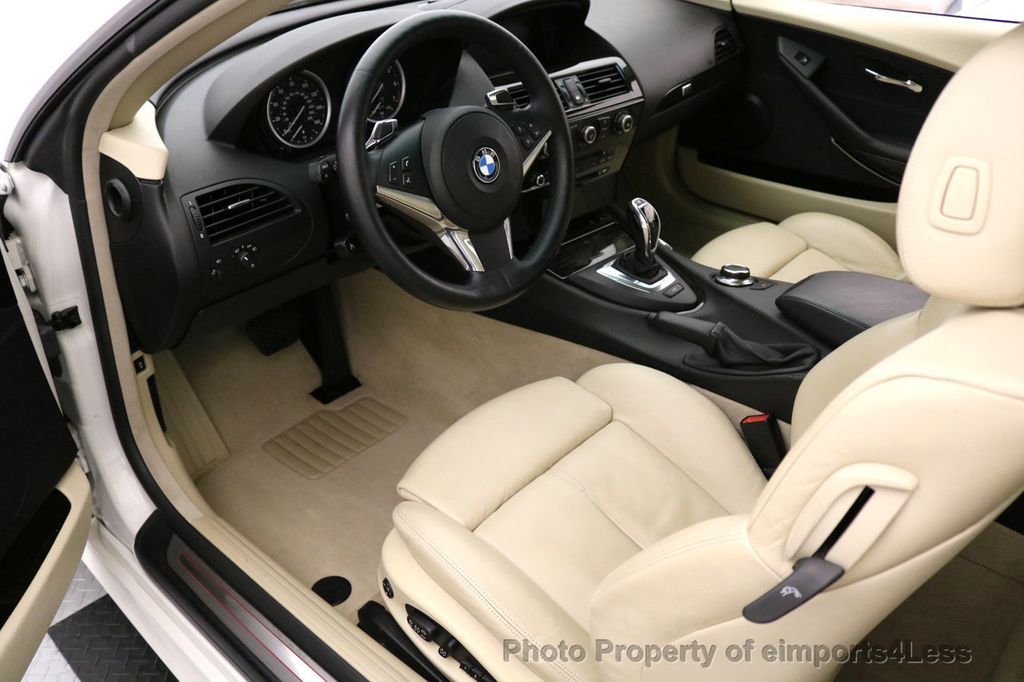 2008 BMW 6 Series CERTIFIED 650i Sport Package NAVIGATION - 17461029 - 33