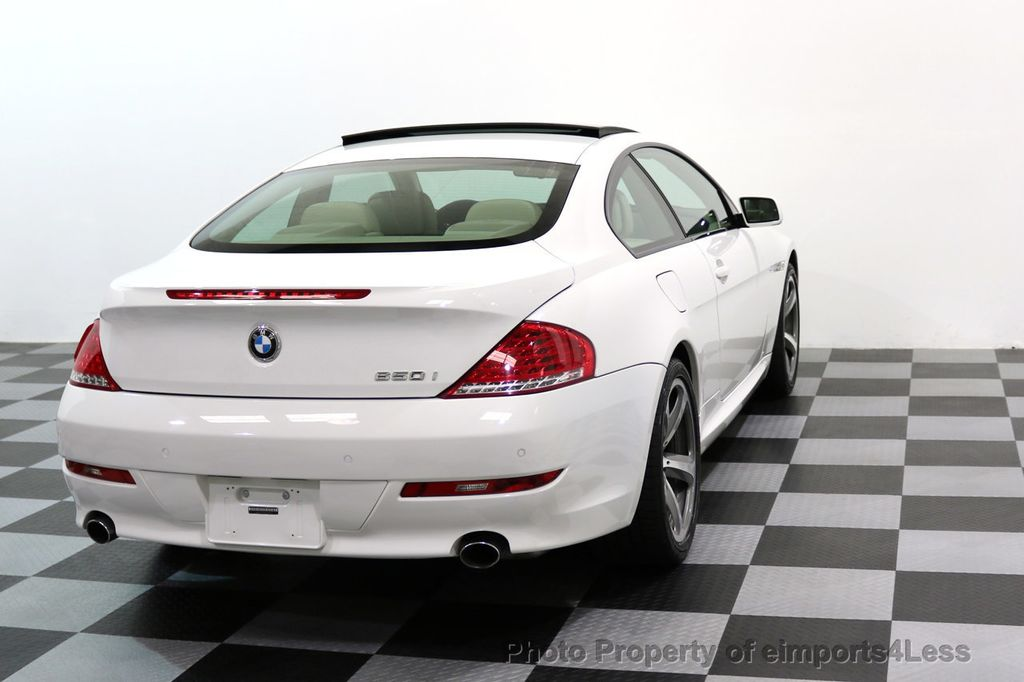 2008 BMW 6 Series CERTIFIED 650i Sport Package NAVIGATION - 17461029 - 3
