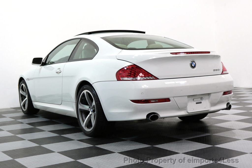 2008 BMW 6 Series CERTIFIED 650i Sport Package NAVIGATION - 17461029 - 47