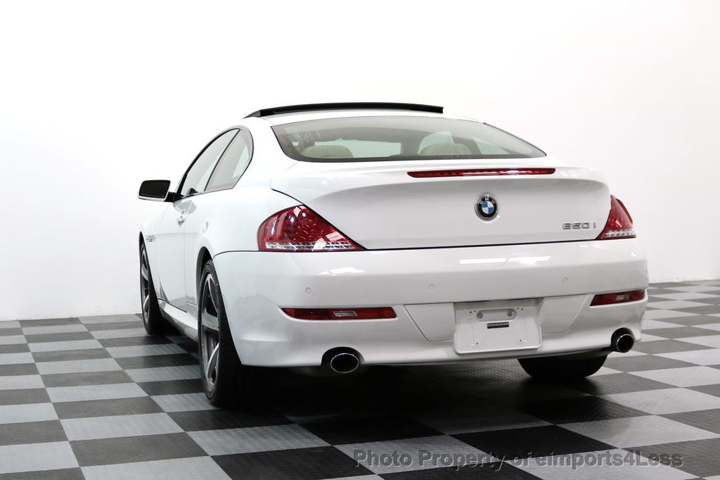 2008 BMW 6 Series CERTIFIED 650i Sport Package NAVIGATION - 17461029 - 50
