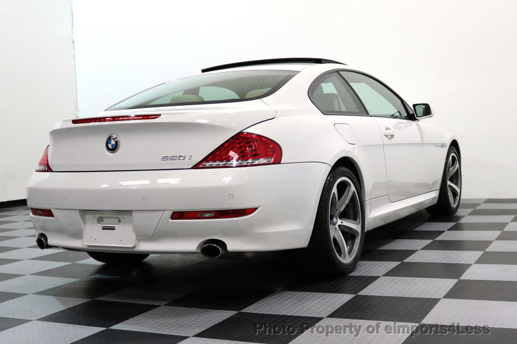 2008 BMW 6 Series CERTIFIED 650i Sport Package NAVIGATION - 17461029 - 51