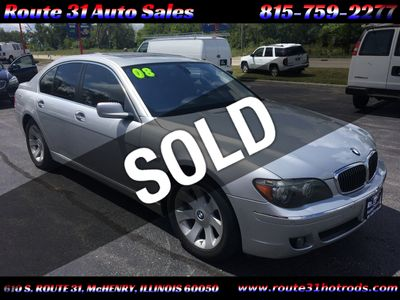 2008 BMW 7 Series  - Click to see full-size photo viewer