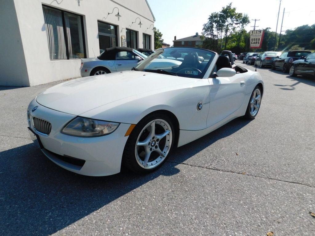 Used Bmw Z4 >> 2008 Used Bmw Z4 Roadster 3 0si At Hg Motorcar Corporation