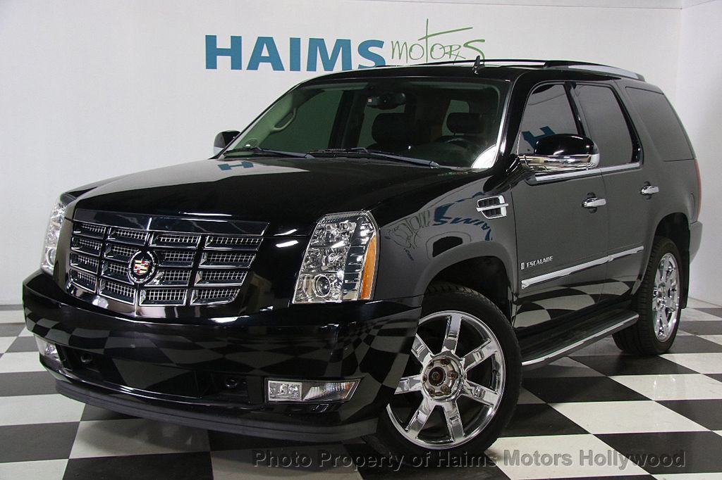 2008 Used Cadillac Escalade Awd 4dr At Haims Motors Serving Fort