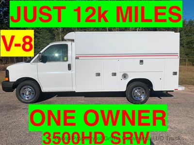 2008 Chevrolet 3500HD SRW KUV JUST 12k MILES SUPER CLEAN ONE OWNER VA TRUCK