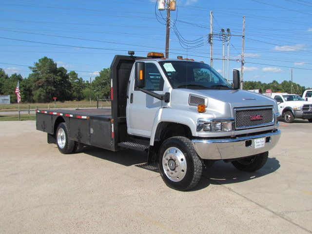 2008 Used Chevrolet C5500 Flatbed 4x4 At Texas Truck Center Serving Houston Tx Iid 15413811
