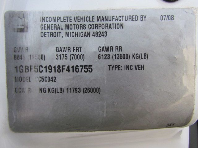 2008 Chevrolet C5500 Fuel - Lube Truck 4x2 - 14054150 - 28