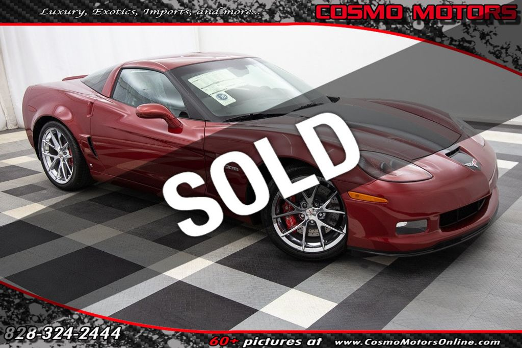 2008 Used Chevrolet Corvette 2dr Coupe Z06 At Cosmo Motors Serving Hickory Nc Iid 18924456