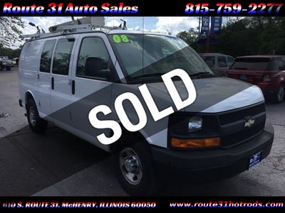"2008 Chevrolet Express Cargo Van RWD 2500 135"" - Click to see full-size photo viewer"