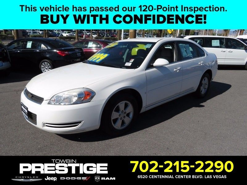 2008 Chevrolet Impala 4dr Sedan 3.5L LT - 16862613 - 0