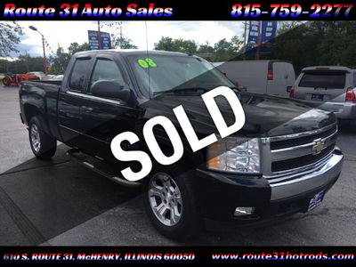 "2008 Chevrolet Silverado 1500 4WD Ext Cab 134.0"" LT w/1LT - Click to see full-size photo viewer"