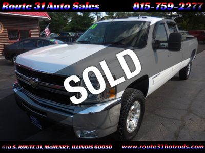 "2008 Chevrolet Silverado 3500HD 4WD Crew Cab 167"" SRW LTZ - Click to see full-size photo viewer"