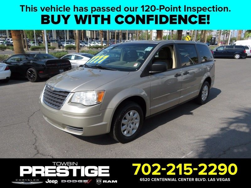 2008 Chrysler Town & Country 4dr Wagon LX - 16812622 - 0