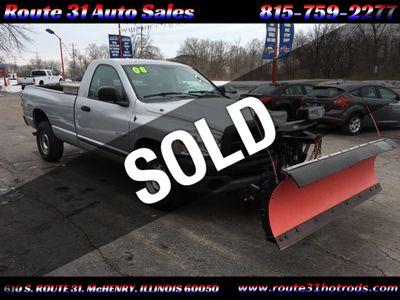 """2008 Dodge Ram 1500 4WD Reg Cab 120.5"""" ST Truck"""