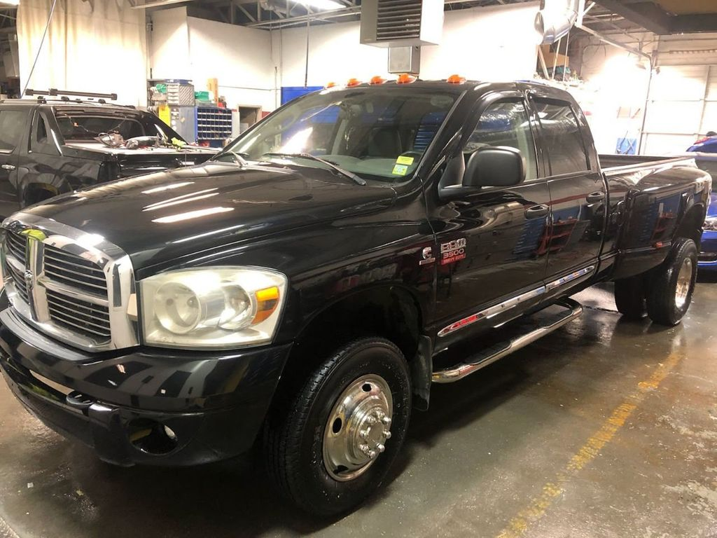 2008 Used Dodge Ram 3500 4WD Quad Cab 160 5