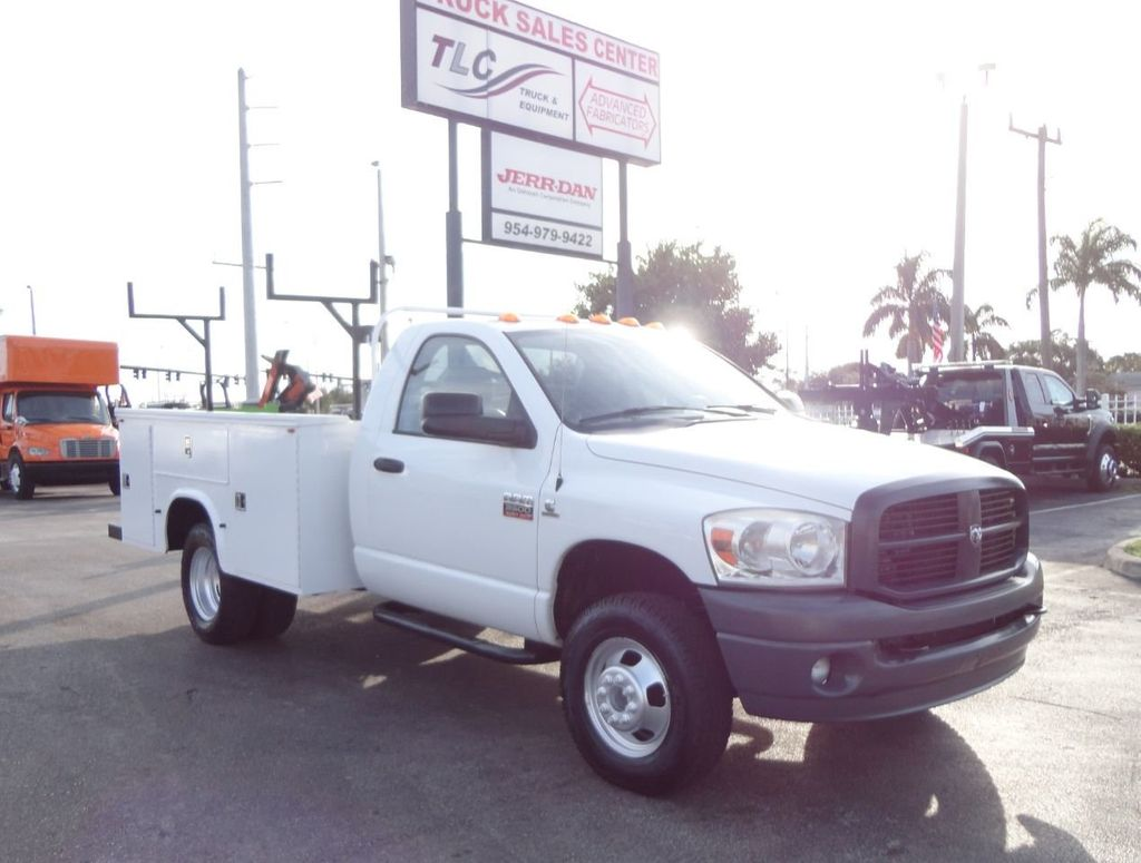 2008 Dodge RAM 3500 4X4 6.7L CUMMINS 8FT UTILITY BED - 18332066 - 7