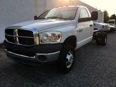 "2008 Dodge Ram 3500 Cab-Chassis 2WD Reg Cab 143.5"" WB 60"" CA Truck"
