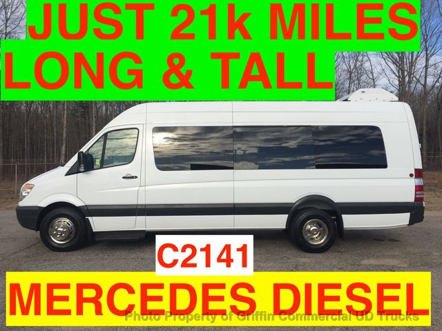 2008 Dodge SPRINTER JUST 21k MILES MERCEDES HI TOP EXTENDED CARRIER HI CAP A/C WHEELCHAIR LIFT