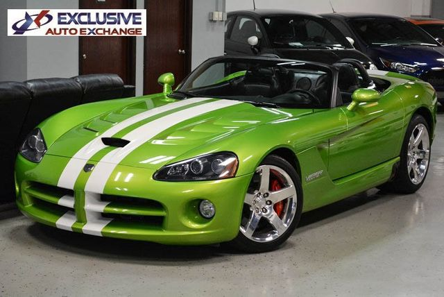 2008 Used Dodge Viper Srt 10 Convertible At Exclusive Auto