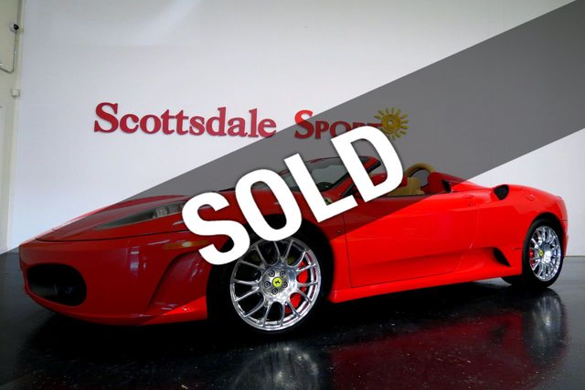 2008 Ferrari F430 SPIDER * ONLY 12K Miles...Stunning!