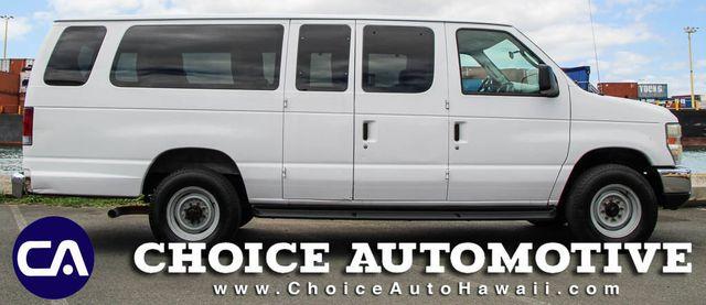 Ford 12 Passenger Van >> 2008 Ford Econoline Wagon 12 Passenger Van Van For Sale Honolulu Hi 10 999 Motorcar Com