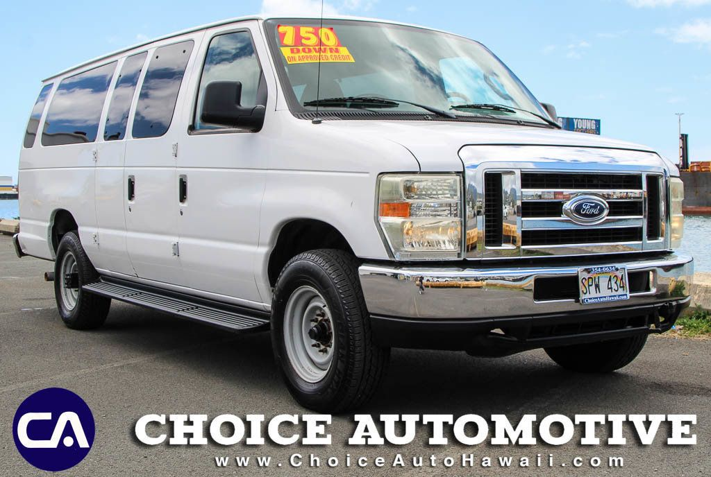 Brilliant 2008 Used Ford Econoline Wagon 12 Passenger Van At Choice Automotive Serving Honolulu Hi Iid 18557981 Squirreltailoven Fun Painted Chair Ideas Images Squirreltailovenorg