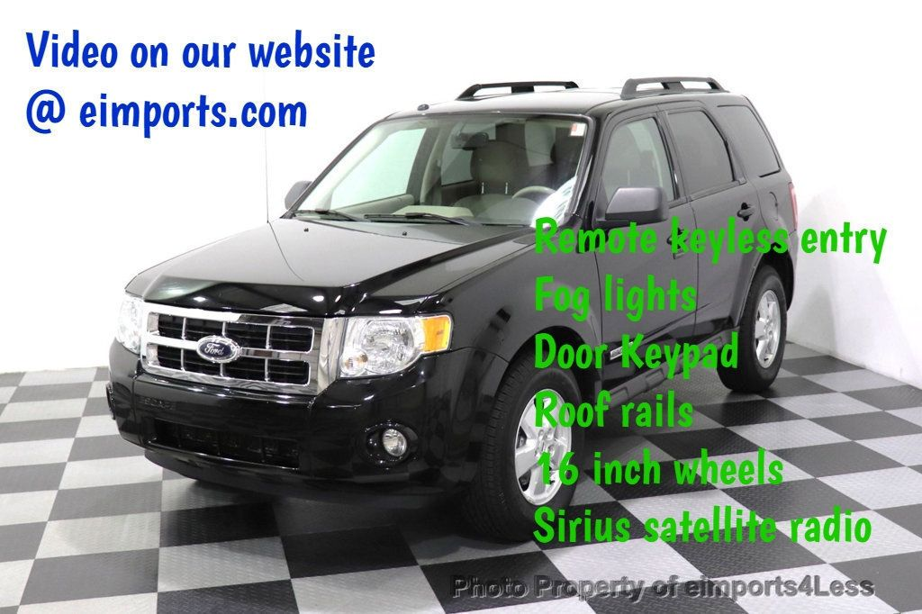 2008 Ford Escape CERTIFIED Escape XLT MOON ROOF SIRIUS ROOF RAILS - 18448621 - 0