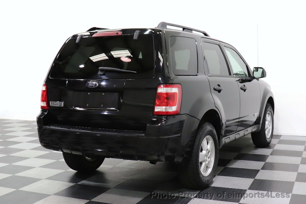 2008 Ford Escape CERTIFIED Escape XLT MOON ROOF SIRIUS ROOF RAILS - 18448621 - 3