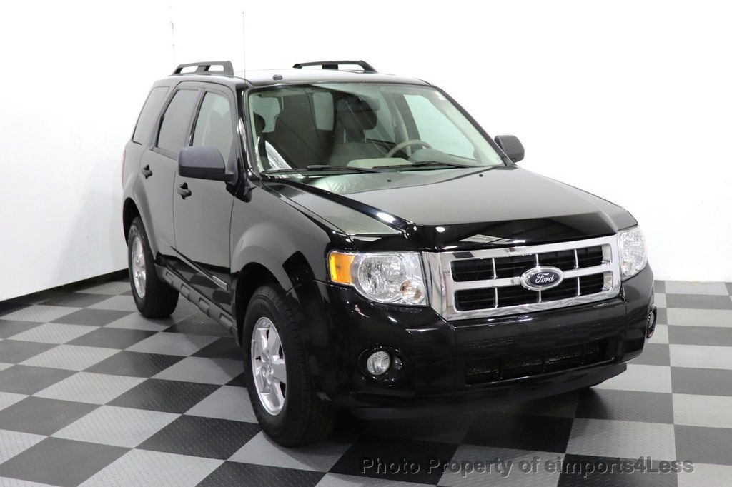 2008 Ford Escape CERTIFIED Escape XLT MOON ROOF SIRIUS ROOF RAILS - 18448621 - 39