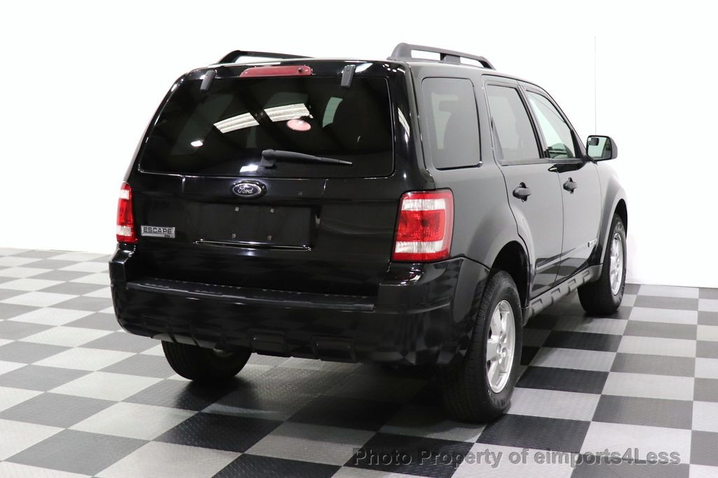 2008 Ford Escape CERTIFIED Escape XLT MOON ROOF SIRIUS ROOF RAILS - 18448621 - 41