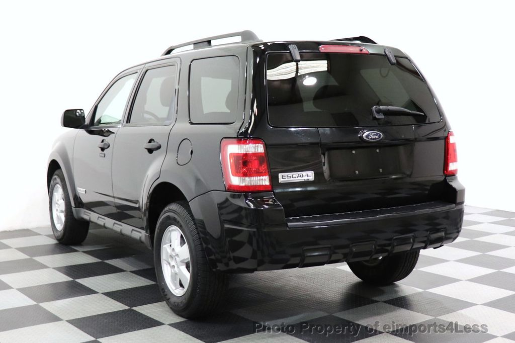 2008 Ford Escape CERTIFIED Escape XLT MOON ROOF SIRIUS ROOF RAILS - 18448621 - 46