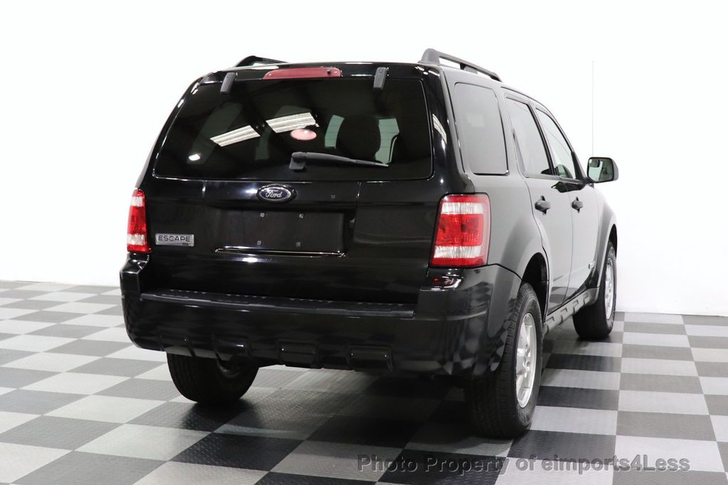 2008 Ford Escape CERTIFIED Escape XLT MOON ROOF SIRIUS ROOF RAILS - 18448621 - 47