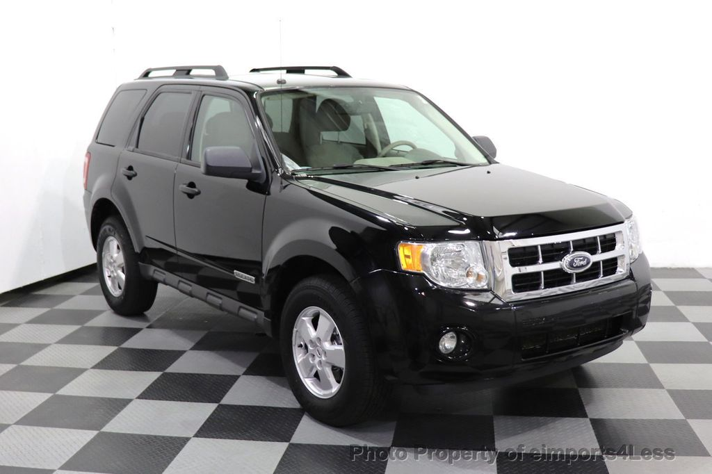 2008 Ford Escape CERTIFIED Escape XLT MOON ROOF SIRIUS ROOF RAILS - 18448621 - 48