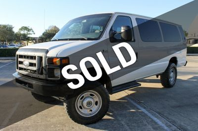 2008 Ford E-350 4X4 E-350 Super Duty Ext QUIGLEY  Van