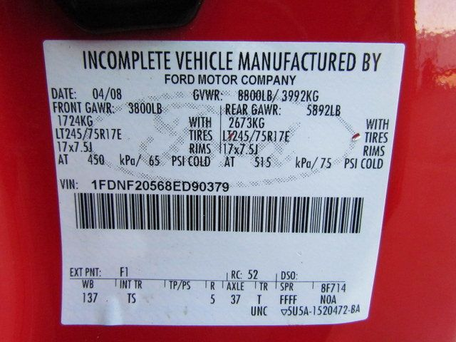 2008 Ford F250 Utility-Service 4x2 - 13988891 - 29
