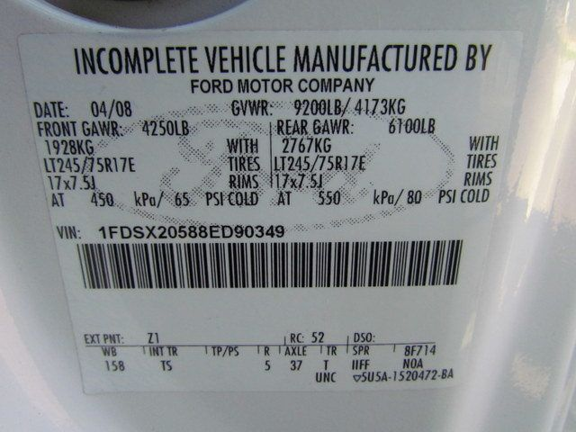 2008 Ford F250 Utility-Service 4x2 - 13988974 - 30