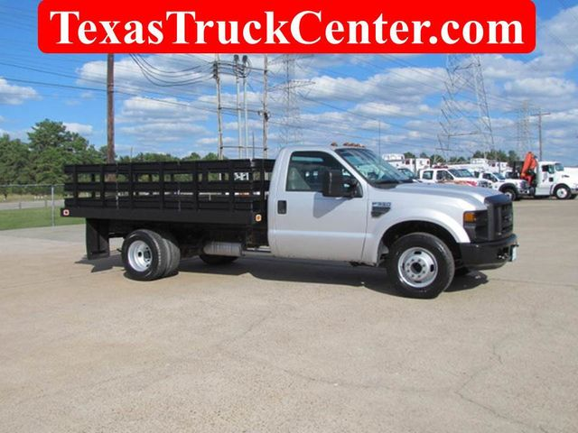 2008 Ford F350 Flatbed 4x2 - 14908167 - 0