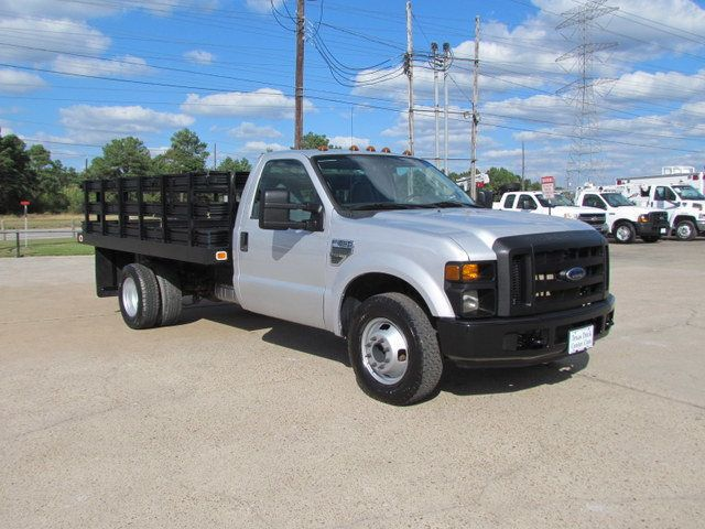 Ford Dealership Houston >> 2008 Used Ford F350 Flatbed 4x2 at Texas Truck Center ...