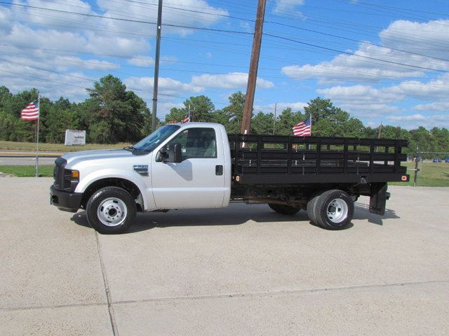 2008 Ford F350 Flatbed 4x2 - 14908167 - 4