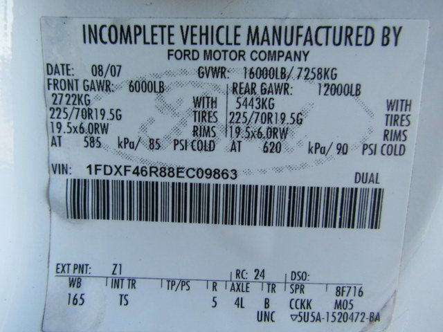 2008 Ford F450 Utility-Service 4x2 - 14357546 - 29