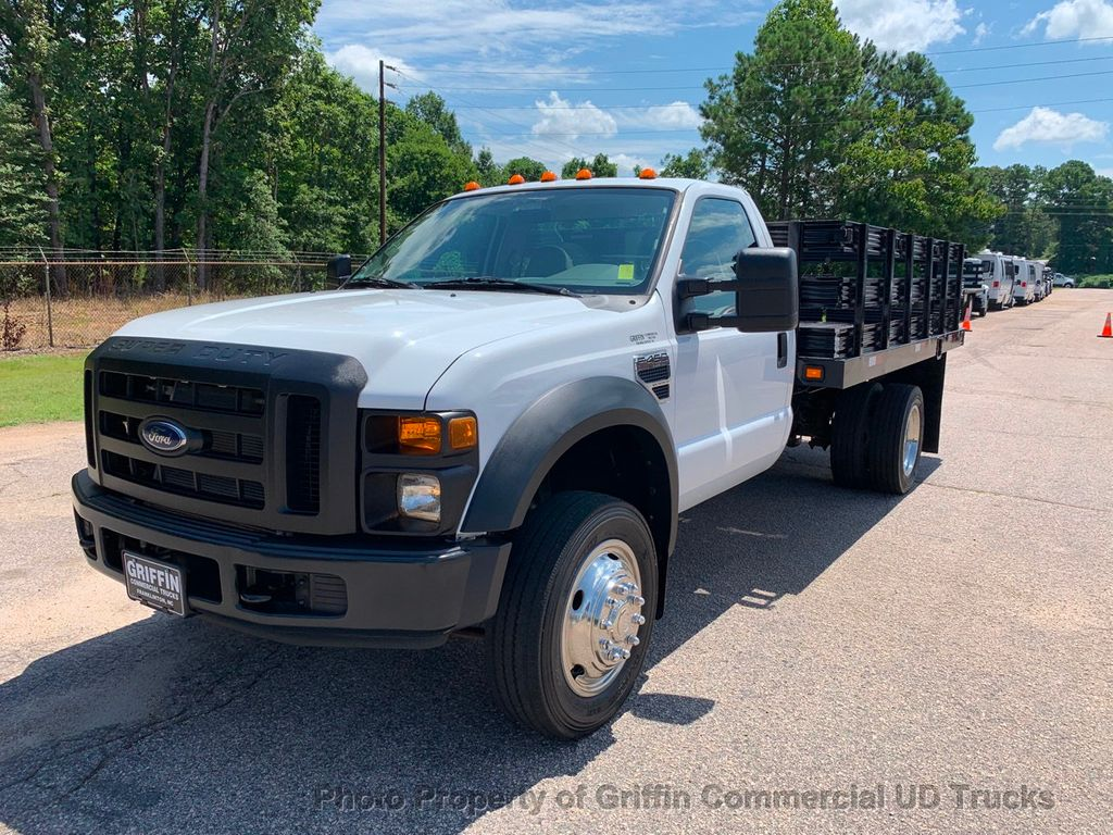12k In Miles >> 2008 Used Ford F450hd Just 12k Miles Stake Body Lift Gate One Owner Heavy Spec 16k Gvw At Griffin Commercial Ud Trucks Nc Iid 19103082