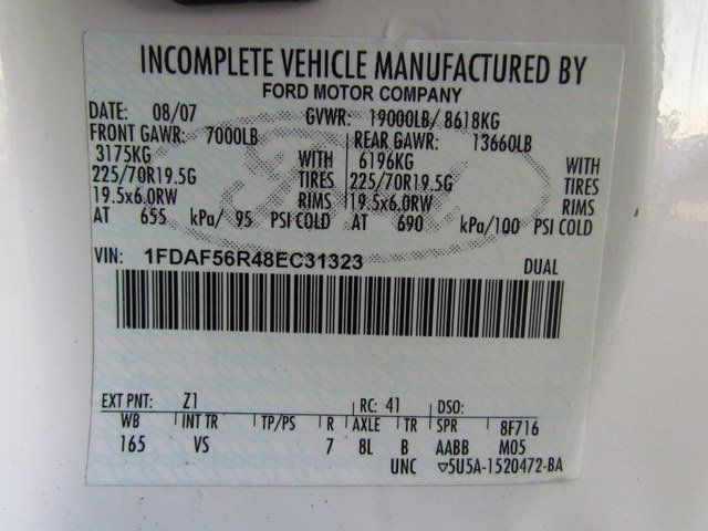 2008 Ford F550 Fuel - Lube Truck 4x2 - 14109809 - 26