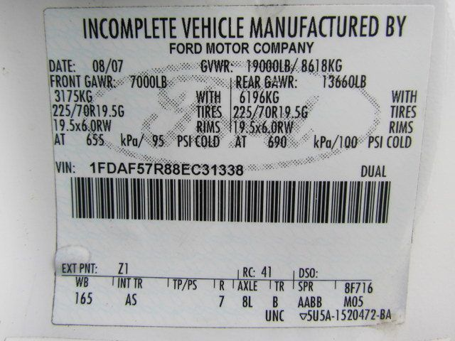 2008 Ford F550 Fuel - Lube Truck 4x4 - 14105235 - 30