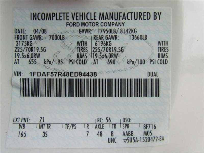 2008 Ford F550 Fuel - Lube Truck 4x4 - 7662174 - 27