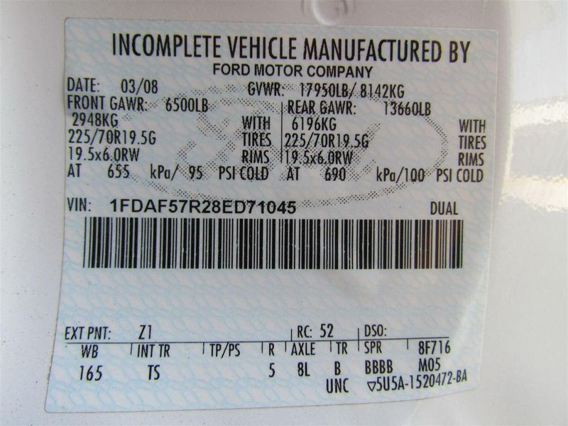 2008 Ford F550 Fuel - Lube Truck 4x4 - 8176383 - 28