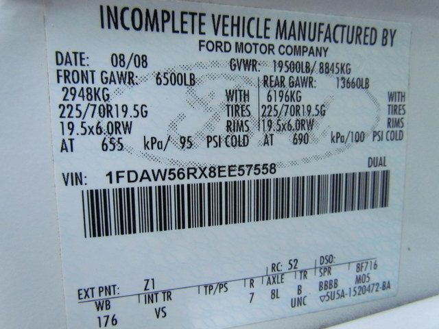 2008 Ford F550 Utility-Service 4x2 - 14083977 - 30