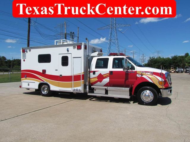 2008 Ford F650 Ambulance - 13343729 - 0