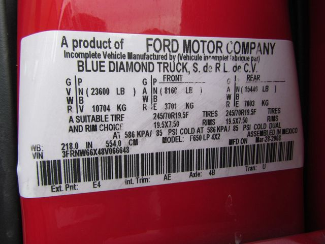 2008 Ford F650 Ambulance - 13343729 - 30