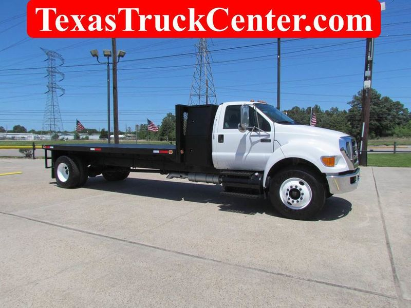 Dealer Video - 2008 Ford F750 Flatbed - 17144544
