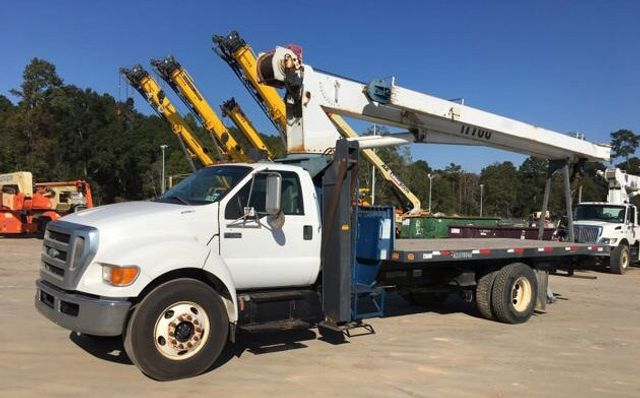 2008 Ford F750 MANITEX 1770C .17 TON CRANE..120FT REACH.. - 17431961 - 0